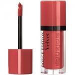 Фото Bourjois Rouge Edition Velvet - Флюид для губ бархатный, тон 04, персиковый, 7.7 мл