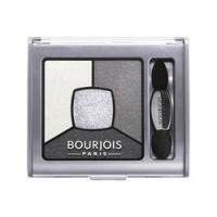Bourjois Smoky Stories Gray&Night - Тени для век в палитре, тон 01, серый, 3 г
