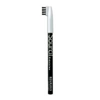 Bourjois Sourcil Precision - Карандаш для бровей с расческой тон 01 черный