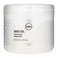 360 - Гель для волос с сильной фиксацией Maxi Gel, 500 мл фото