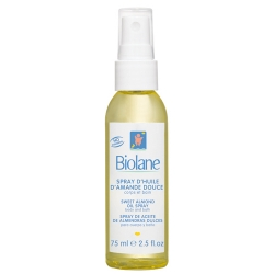 Фото BIOLANE - Нежное миндальное масло-спрей с витамином Е для детей с первых дней жизни 75 мл