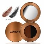 Cailyn Eye Brow Duo Dark - Тени для бровей, тон 02, 0,3 г
