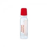 Фото Canpol - Бутылочка стеклянная с силиконовая соской 12+, 240 мл.