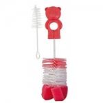 Фото Canpol - Ершик для мытья бутылочек и сосок с губкой, набор