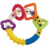 Canpol - Погремушка с рождения, Разноцветные колечки, 1 шт