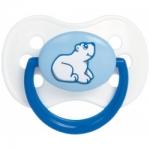 Фото Canpol Animals - Пустышка круглая латексная, 0-6