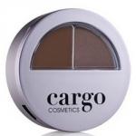 Фото Cargo Cosmetics Brow How Defining Kit Dark - Набор для бровей темно-коричневый, 1,3 г