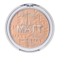 CATRICE All Matt Plus Shine Control Powder Sand Beige - Пудра компактная, тон 025, песочно-бежевый