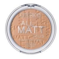 CATRICE All Matt Plus Shine Control Powder Warm Beige - Пудра компактная, тон 030, темно-бежевый