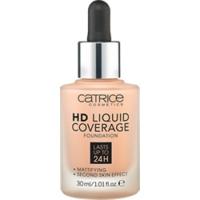 Купить CATRICE HD Liquid Coverage Foundation Rose Beige - Основа тональная, тон 020