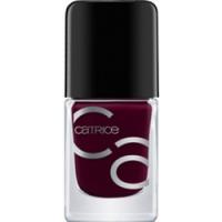 CATRICE ICONails Gel Lacquer - Лак для ногтей, тон 36 темно пурпурно-красный