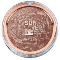 CATRICE Sun Lover Glow Bronzing Powder - Бронзатор для лица, тон 010