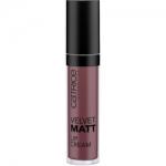 Фото CATRICE Velvet Matt Lip Cream - Кремовая губная помада, тон 090 темно-терракотовый