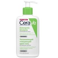 CeraVe Detergente Inratante - Крем-гель очищающий для нормальной и сухой кожи лица и тела, 236 мл