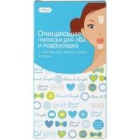 Купить Cettua - Полоски очищающие для лба и подбородка, 6 шт