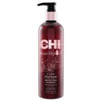 CHI Rose Hip Oil Shampoo - Шампунь с маслом лепестков роз, 340 мл