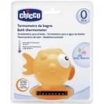 Фото Chicco - Термометр для ванны, Рыба-Шар, желтый, 0+