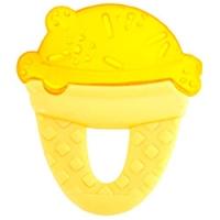 Chicco Fresh Relax - Прорезыватель-игрушка с 4-х месяцев, Мороженое, желтое