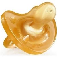 Chicco Physio Soft - Пустышка из натурального латекса, с 6-12 месяцев, 1 шт.