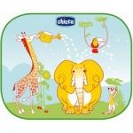 Фото Chicco Safe - Защитные шторки для автомобиля, на присосках, с рисунком, сумка в комплекте