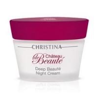 Christina Chateau De Beaute Deep Beaute Night Cream - Крем интенсивный обновляющий, ночной, 50 мл.
