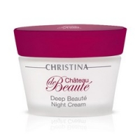 Christina Chateau De Beaute Deep Beaute Night Cream - Крем интенсивный обновляющий, ночной, 50 мл.<br>