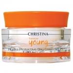 Фото Christina Forever Young Hydra Protective Day Cream SPF 25 - Крем дневной гидрозащитный, 50 мл