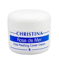 Christina Rose de Mer 5 Post Peeling Cover Cream - Постпилинговый тональный защитный крем, 20 мл