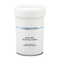 Christina Rose Hips Moisture Cream with Carrot Oil - Увлажняющий крем с маслом шиповника и морковным маслом, 250 мл<br>