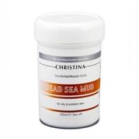 Christina Sea Herbal Beauty Dead Sea Mud Mask - Грязевая маска для жирной кожи, 250 мл