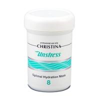 Christina Unstress Optimal Hydration Mask - Оптимальная увлажняющая маска, 250 мл