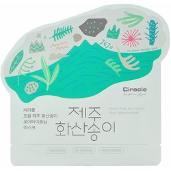 Фото Ciracle Jeju Volcanic Pore-Tightening Mask - Маска для лица тканевая для сужения пор, 21 гр