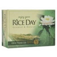 Cj Lion Rice Day Soap - Мыло туалетное с экстрактом Лотоса, 100 г.