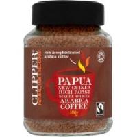 Clipper - Кофе растворимый Папуа-Новая Гвинея Органик, 100 г