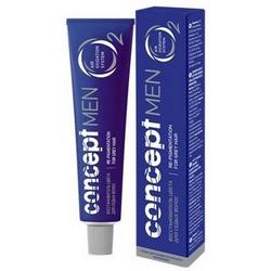 Фото Concept Men Recolor Cream For Grey Hair - Восстановитель цвета седых волос для темно-русых волос, 60 мл