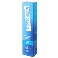 Concept Soft Touch - Крем-краска для волос безаммиачная, тон 10.0 Очень светлый блондин, 60 мл