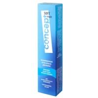 Concept Soft Touch - Крем-краска для волос безаммиачная, тон 8.1 Пепельный блондин, 60 мл