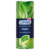 Contex Green Plus - Гель-смазка с антиоксидантом, 100 мл