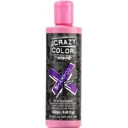 Фото Crazy Color-Rainbow Vibrant Color Shampoo Purple - Шампунь для всех оттенков пурпурного, 250 мл