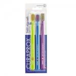 Фото Curaprox CS 5460 Ultra Soft №3 - Набор ультрамягких зубных щеток, 3 штуки