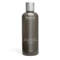 Купить Naomi - Шампунь с черной минеральной грязью c минералами Мертвого моря для жирной и раздраженной кожи, 300 мл
