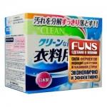Фото Daiichi Funs Clean - Стиральный порошок с ферментом яичного белка, для полного устранения пятен, 900 г