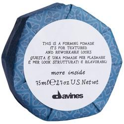 Фото Davines More Inside Forming Pomade - Помада моделирующая для текстурных и пластичных образов, 75 мл