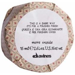 Фото Davines More Inside Shine Wax - Воск блеск для глянцевого финиша, 75 мл