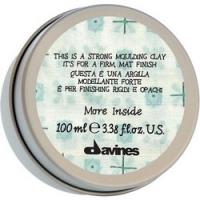 Davines More Inside Strong Moulding Clay - Глина моделирующая для стойкого матового финиша, 75 мл<br>