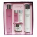 Фото Deoproce Cleanbello Collagen Essential Moisture Skin Care 3 - Набор для лица уходовый с коллагеном, 2*150 мл, 2*30 мл