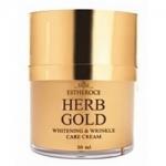 Фото Deoproce Estheroce Herb Gold Whitening And Wrinkle Care Cream - Крем для лица омолаживающий, 50 мл