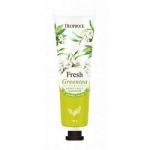 Фото Deoproce Fresh Greentea Perfumed Hand Cream - Крем для рук парфюмированный, 30 гр