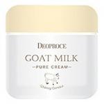 Фото Deoproce Goat Milk Pure Cream - Крем для лица антивозрастной с экстрактом козьего молока, 50 гр