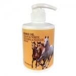 Фото Deoproce Horse Oil Clean And White Cleansing And Massage Cream - Крем для тела массажный с лошадиным жиром, 450 мл